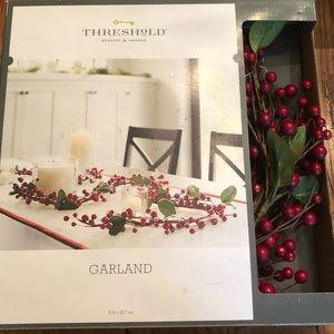 Threshold Red Berry Garland